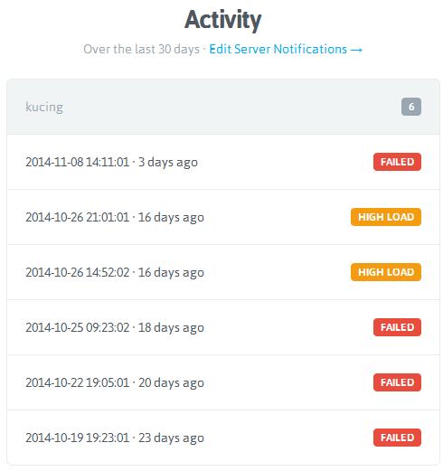 nodequery-server-activity